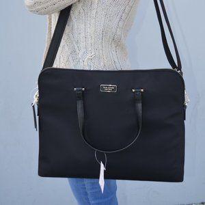 "NWT Kate Spade Daveney 15"" Laptop Nylon Bag"